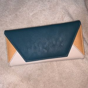 Color Blocking Wallet